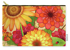 From The Garden Carry-all Pouch