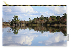 Carry-all Pouch featuring the photograph From The Lake To The Channel  by Debra Forand