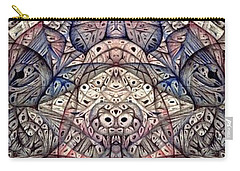 from the ongoing series Digitized Ballpoint Carry-all Pouch by Jack Dillhunt
