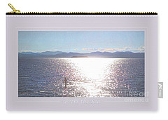 Carry-all Pouch featuring the photograph From The Sea Poster by Felipe Adan Lerma