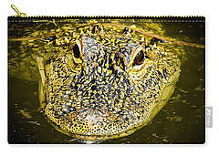 From The Series I Am Gator Number 5 Carry-all Pouch