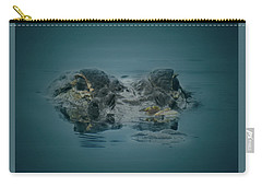 From The Series I Am Gator Number 6 Carry-all Pouch