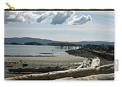 from the shore at Powell River Carry-all Pouch