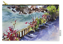 From The Walkway Carry-all Pouch by Rae Andrews