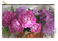 Front Porch Peonies Carry-all Pouch