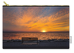 Carry-all Pouch featuring the photograph Front Row Seat by Robin-Lee Vieira