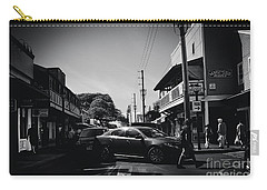 Carry-all Pouch featuring the photograph Front Street  by Sharon Mau