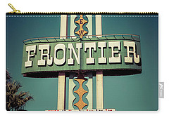 Frontier Hotel Sign, Las Vegas Carry-all Pouch