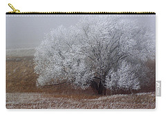 Frost And Fog Carry-all Pouch by Alana Thrower