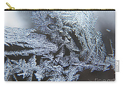 Frost Branches Carry-all Pouch