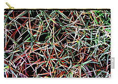 Frost On The Grass Carry-all Pouch