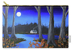 Carry-all Pouch featuring the painting Frost Tonight by Jack G Brauer