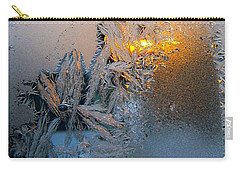 Frost Warning Carry-all Pouch by Pamela Clements
