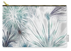 Frosted Abstract Carry-all Pouch by Methune Hively