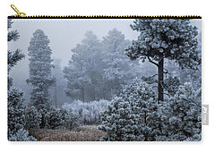 Frosted Carry-all Pouch by Alana Thrower