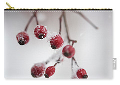 Frosted Berries Carry-all Pouch