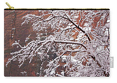 Frosted Branches Carry-all Pouch
