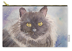 Frosted Feline Carry-all Pouch