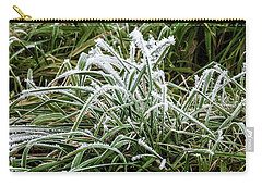 Frosted Grass Carry-all Pouch