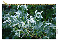 Frosted Holly Carry-all Pouch