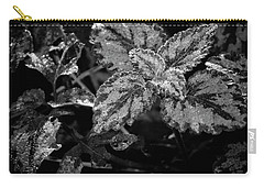 Frosted Hosta Carry-all Pouch