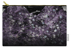 Frosted Purple Mountains Carry-all Pouch