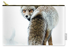 Frosty Fox Carry-all Pouch