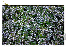 Frosty Hedgerow Carry-all Pouch