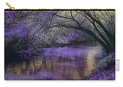 Frosty Lilac Wilderness Carry-all Pouch