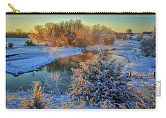 Frosty Morning Carry-all Pouch by Bruce Morrison