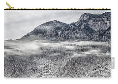 Snowy Grandfather Mountain - Blue Ridge Parkway Carry-all Pouch