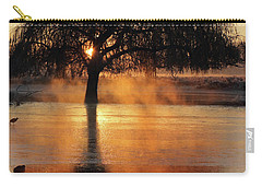 Frosty Sunrise In Bushy Park London 2 Carry-all Pouch