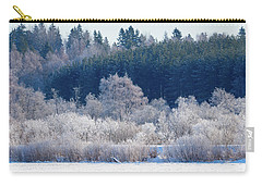 Frosty Trees Of February Carry-all Pouch