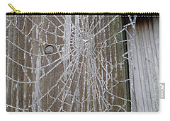 Frosty Web Carry-all Pouch