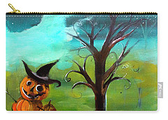 Frostys Cousin Pumpkin Somethin Painting By Lisa Kaiser Carry-all Pouch
