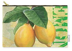 Froyo Lemon Carry-all Pouch by Debbie DeWitt