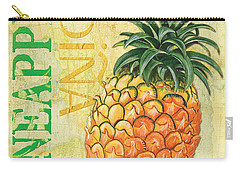 Froyo Pineapple Carry-all Pouch by Debbie DeWitt