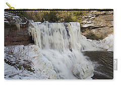 Frozen Blackwater Falls Carry-all Pouch