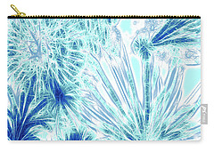Frozen Blue Ice Carry-all Pouch by Methune Hively
