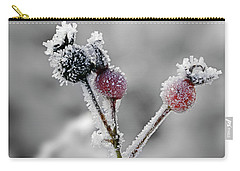 Frozen Buds Carry-all Pouch by Inge Riis McDonald