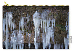 Carry-all Pouch featuring the photograph Frozen by Ester Rogers