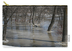 Frozen Floodwaters Carry-all Pouch
