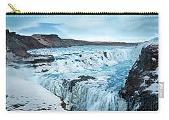 Frozen Gullfoss Carry-all Pouch