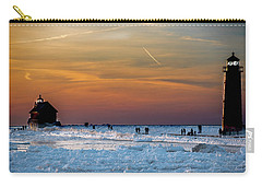 Frozen Lighthouse Carry-all Pouch