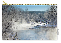 Frozen Misty Morning Carry-all Pouch