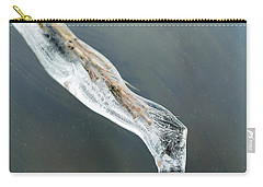 Frozen Pampas Grass Plume  Carry-all Pouch
