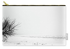 Frozen Saint Clair River In Snowstorm 2 Carry-all Pouch