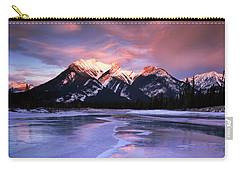 Frozen Sunrise Carry-all Pouch by Dan Jurak