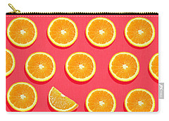 Orange Carry-all Pouches