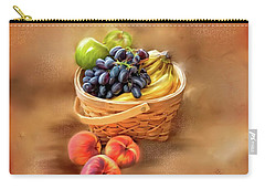 Fruit Basket Carry-all Pouch by Mary Timman